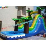 Childrens Outdoor Inflatable Water Slides for parties (amusement game, amusement park)
