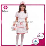 Onbest China manufacturer sexy nurse red cross halloween costume with first-aid kit for girls