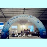 Custom Advertising Rainbow Inflatable Arch for Outdoor Event