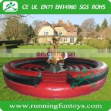 Inflatable mechanical bull, inflatable rodeo bull, inflatable bull riding machine