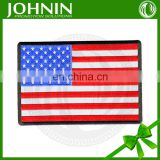 Eco-Friendly Feature and Iron-On Style American flag patch