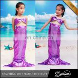 Manufacturers Selling Summer Hot Kids Stage Performance Dress Mermaid Child Carnival