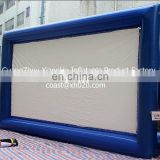 Hot saler indoor or outdoor commercial grade vinyl tarpaulin mini inflatable projector screen SC12