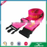 2016 no minimum order elastic polyester fasten luggage rope belt