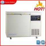 -150 Degree Chest Type 118L Medical Cryogenic Deep Freezer