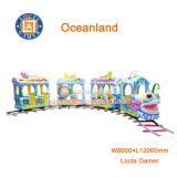Zhongshan amusement park equipment Amusement rides Oceanland train 12 seats, train rides, electric train