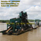 1-15m Bucket Chain Gold Dredger River Dredging Equipment Heavy Pump