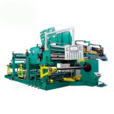 Welding aluminum foil winding machine