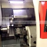 Small Lathe CNC Machine With Hiwin Linear Guide Rail Automatic Lubrication System