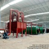 Practical fully small waste tyre pyrolysis machine that can convert tyre into fuel oil plant with high profits