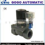CPVC concentrated sulfuric acid anticorrosive electromagnetic valves chemical resistant solenoid valve