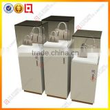 Wholesale MDF and glass handbags display cabinet                                                                         Quality Choice
