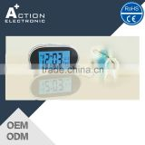 hotel digital table alarm clock with LED light