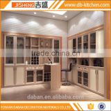 Modern open wardrobe design and book cabinet
