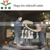 OTR tire cutting sidewalls machine/ otr cutting machine /used otr cutting machine for sale