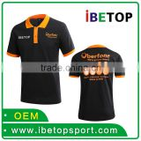 100% cotton Customized silk printed Logo Printed Blank 220 grams china factory polo shirt