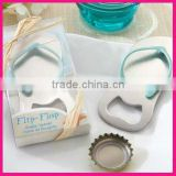 fashion promotional unique shoe beer metal bottle opener slipper