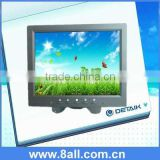 "8.4 inch TFT LCD Monitor with VGA and BNC Interface on the right side "" Small size CCTV Monitor"