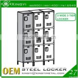12X12X78 2014 sheet metal locker steel or iron wardrobe locker/metal steel lockers/steel locker