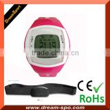 3D G-Sensor 7 days memory heart rate monitor wristband pedometer watch