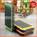 Promotional newest fashion solar power bank 10000mah                                                                         Quality Choice                                                     Most Popular