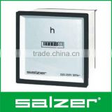Salzer Brand Analog Hours Run Meter