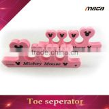 T1020 most popular plastic silicone toe sponge toe separator                                                                         Quality Choice