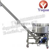 Stainless steel flexible inclined screw auger powder conveyor feeder price