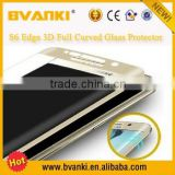 Newest !!!Otao S6 edge 3D curve full cover tempered glass screen protector