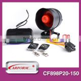 long distance two way car alarm spy with external shock sensor