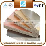 hot sale cherry melamine paper laminated particle board with low price                                                                         Quality Choice