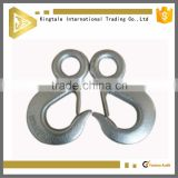 Crane lifting US Type Alloy Forged Eye Hook With Latch