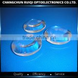 Optical Usage and Glass Material magnifying Double convex lens, large glass magnifier lens