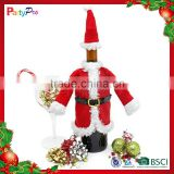 2015 New Design Hot Christmas Novelty Dinner Party Table Decoration Xmas Wine Bottle Cover