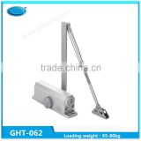 China Manufacturing Aluminum Alloy Force Hydraulic Door Closer Hinge