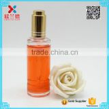 Bulk 50ml round essential oil clear bottle /glass attar dropper bottle                                                                                                         Supplier's Choice