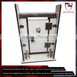 Whole Set Stainless Steel Partition Door Hardware For Tolilet / Restroom / Fitting Room /Changing Room