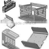 High precision sheet metal houseware product fabrication,perforated metal fabrication