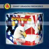 2014 Chinese Liuyang Fireworks loud firecracker Super Star 500 16 Shots