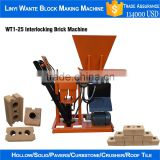 Factory direct sale WT1-25 diesel motor engine interlocking brick production line