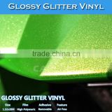 CARLIKE Paypal Payment Air Free Glossy Glitter Car Vinyl Rolls Wholesale                                                                         Quality Choice