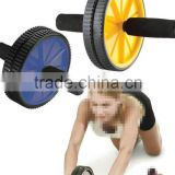 AB abdominal waist workout Roller Fitness Wheel Abs exercise Gym with Knee Pad