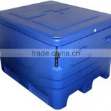 fish storage bin/container freezer food box Rotomolded large cooler for fish Carrying fish