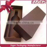 Single bottle red wine box for gift packaging, paper wine packaging box                                                                                                         Supplier's Choice