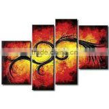 High Quality Modern Handmade Canvas Wall Art Elephant Abstract Oil Painting