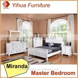 Yihua New Products 2016 Miranda Bedroom Set With Nightstand And Chest Of Drawers