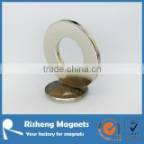 large radially neodymium magnetic ring magnet supplier