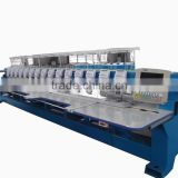 15 head 6 needle LH head high speed flat embroidery machine
