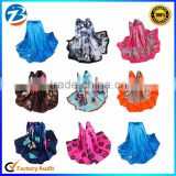 Fashion 100 % Pure Silk Attractive Beach Pashmina Scarves For Ladies