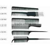 plastic hair tail combs wholesale
